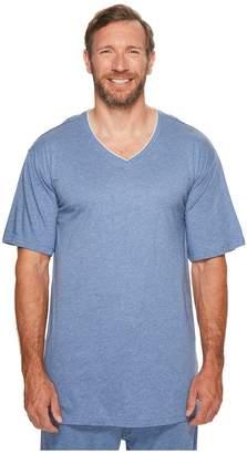Tommy Bahama Big Tall Cotton Modal V-Neck Short Sleeve T-Shirt Men's T Shirt
