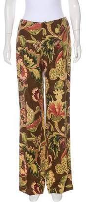 Ralph Lauren Printed Linen Pants