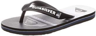 Quiksilver (クイックシルバー) - [クイックシルバー] サンダル MOLOKAI HIGHLINE SLAB LOGO YOUTH AQBL100263 [ボーイズ] XKSW 日本 22CM (日本サイズ150 相当)