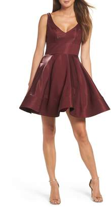 Xscape Evenings Shimmer Fit & Flare Dress