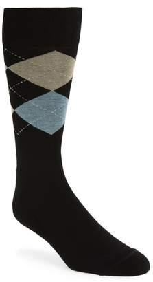 Nordstrom Argyle Dress Socks
