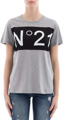 N°21 Grey Cotton T-shirt