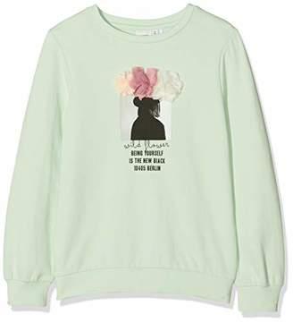 Name It Girl's Nkfbellua Ls Sweat Unb Sweatshirt,(Manufacturer Size: -140)