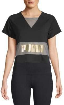 Puma Exposed Cropped Tee