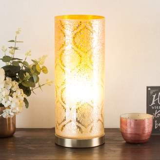 "House of Hampton Alexus Moroccan Floral 16"" Table Lamp House of Hampton"