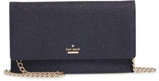 Kate Spade Burgess Court - Brennan Glitter Leather Crossbody Clutch