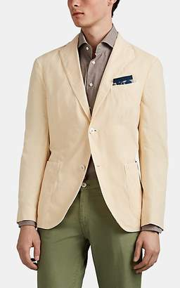 "Boglioli Men's ""K Jacket"" Micro-Corduroy Two-Button Sportcoat - Cream"