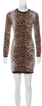 RED Valentino Leopard Pattern Dress w/ Tags