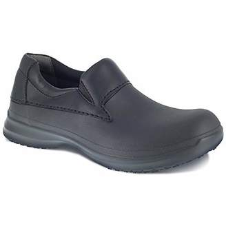 Grabbers Men's LiteRush G0025 Slip Resistant Lightweight Lace Up Oxford Food Service Shoe