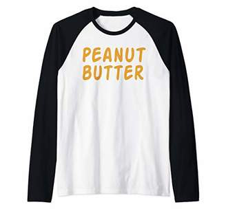 Butter Shoes Peanut Shirt Funny Matching Jelly Couple Costumes Raglan Baseball Tee