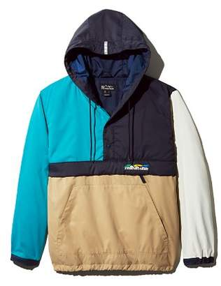 Manastash Flex Color-Block Hooded Pullover Anorak
