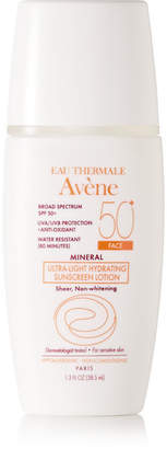 Avene Spf50 Mineral Ultra-light Hydrating Sunscreen Lotion, 50ml - Colorless