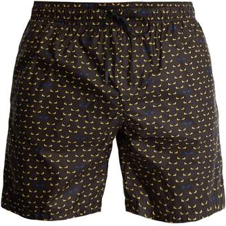 Fendi Bag Bugs-print swim shorts