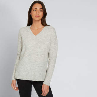 Seed Heritage V Neck Plush Sweater