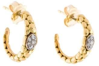 Chimento 18K Diamond Stretch Hoop Earrings
