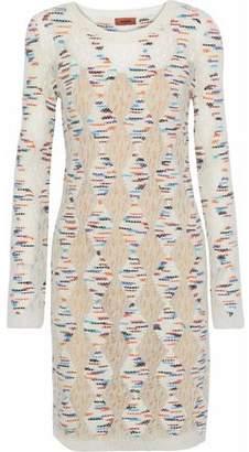 Missoni Marled Open-Knit Dress