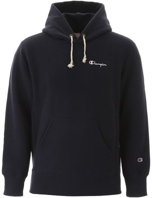 Champion Hoodie With Embroidered Logo