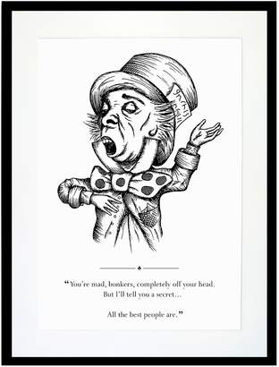 Eleanor Stuart - The Mad Hatter Print