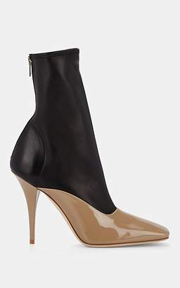 Burberry Women's Leather Ankle Boots - Sand