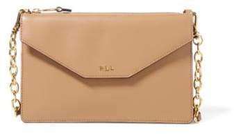 Ralph Lauren Saffiano Erika Crossbody Bag Palomino One Size