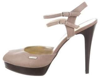 Gianfranco Ferre GF Ankle Strap Platform Sandals