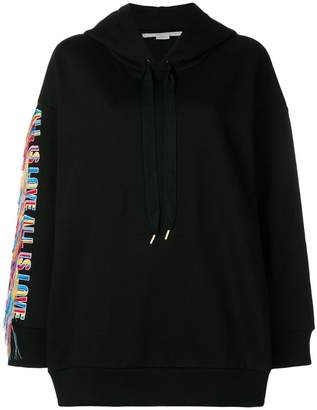 Stella McCartney rainbow embellished hoodies