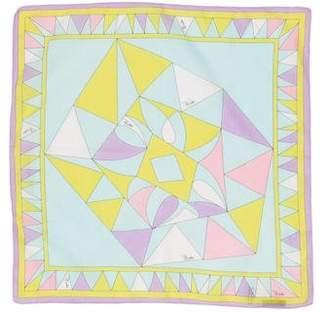 Emilio Pucci Geometric Print Handkerchief