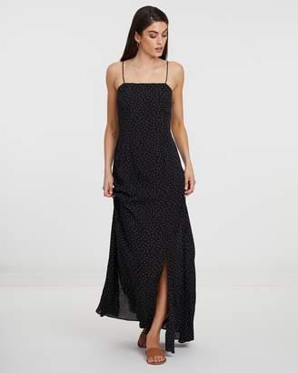 Atmos & Here ICONIC EXCLUSIVE - Mini Polka Dot Maxi Dress
