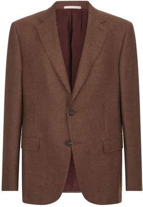 Pal Zileri Mini Check Suit Jacket