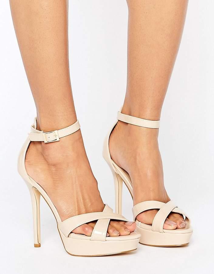 Truffle Collection Stiletto Platform Sandal