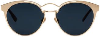 Christian Dior Rose Gold Nebula Sunglasses