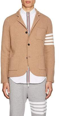 Thom Browne Men's Camel Hair Three-Button Sportcoat - Beige, Tan