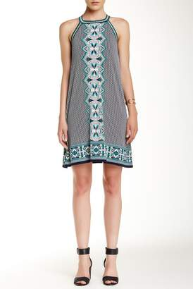 Max Studio Border Shift Dress