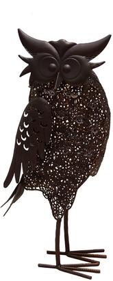 Solar Powered LED Owl Garden Decor