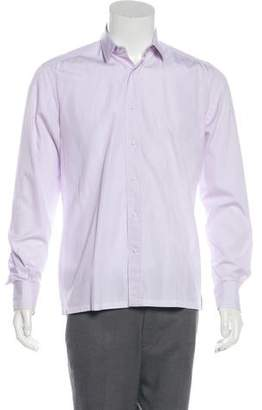 Lanvin Check Print Shirt