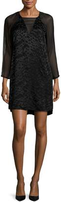 French Connection Women's Fast Aria Jacquard Tunic Dress