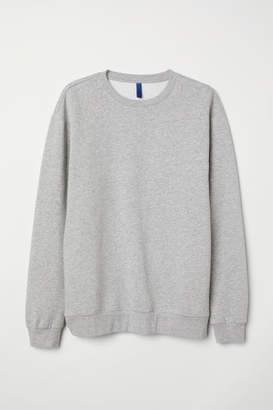 H&M Relaxed-fit Sweatshirt - Gray