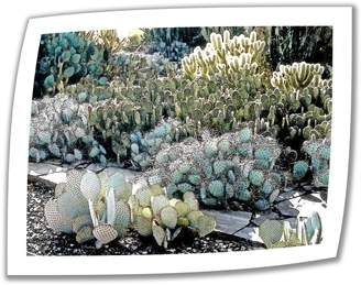 Parker Art Wall Desert Botanical Garden Unwrapped Canvas Art by Linda with 2-Inch Accent Border
