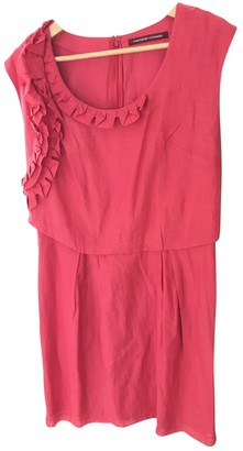 Comptoir des Cotonniers Pink Cotton Dress for Women