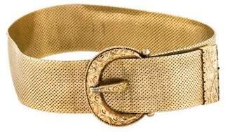 14K Buckle Link Bracelet