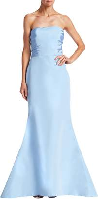 Oscar de la Renta Women's Silk Trumpet Gown