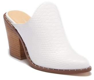 Chinese Laundry Springfield Leather Block Heel Mule