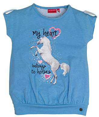 Salt&Pepper Salt & Pepper Salt and Pepper Girl's Horses Uni Photoprint T-Shirt