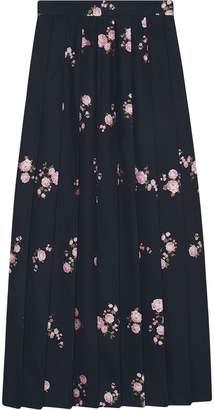 Gucci Floral fil coupé maxi skirt
