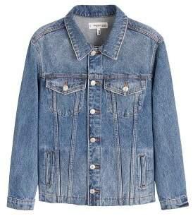 MANGO Medium wash denim jacket