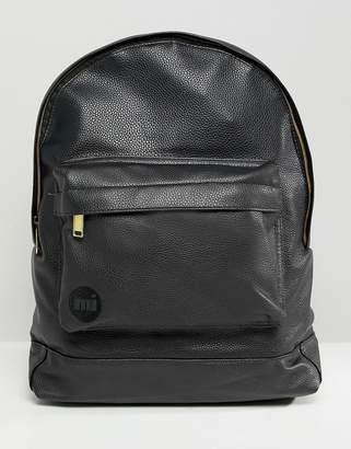 Mi-Pac Tumbled Backpack in Black