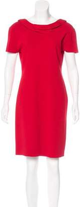 Valentino Crepe Mini Dress