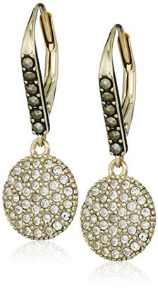 "Judith Jack ""Classics"" Gold-Tone Sterling Silver and Swarovski Drop Earrings $84.27 thestylecure.com"