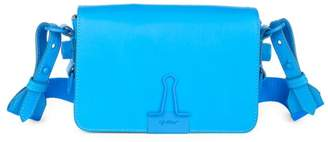 Off-White Off White Coated Binder Clip Crossbody Bag