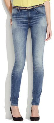 Skinny skinny high riser jeans in saloon wash